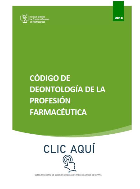 Código de Deontología de la Profesión Farmacéutica