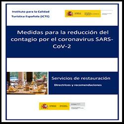 Medidas reducción contagio - restaurantes