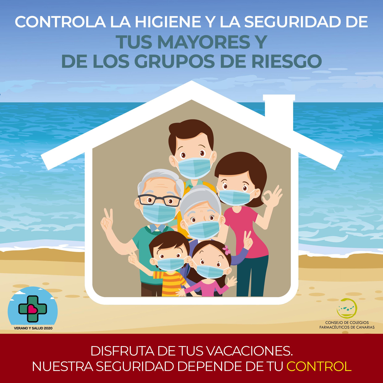 Controla la Higiene y la seguridad de tus Mayores y de los grupos de riesgo